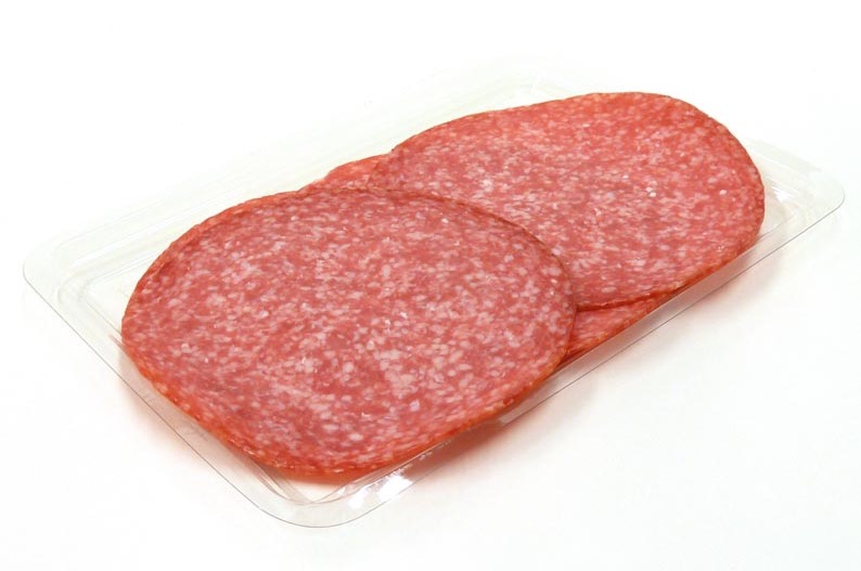 Salami met knoflook