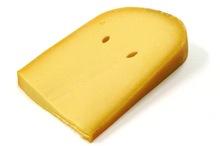 Jong belegen kaas stuk