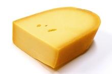 Belegen kaas stuk